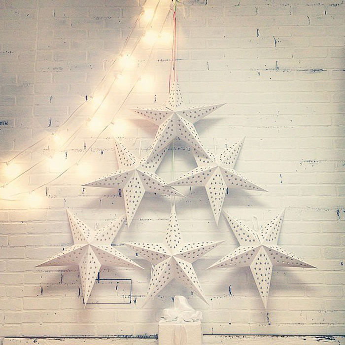 DIY Christmas Tree Ideas For Small Apartment 9