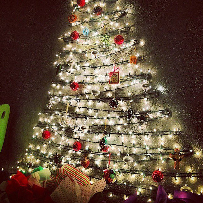 DIY Christmas Tree Ideas For Small Apartment 12