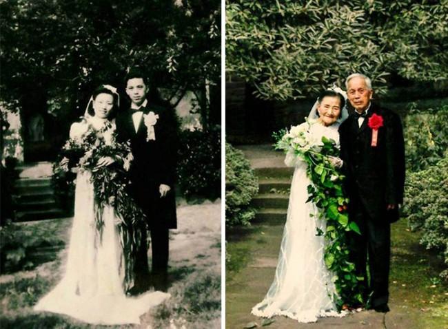 Love Forever:98 歲老夫婦舊游承諾之地,拍下 70 年後的永恆婚紗照 5