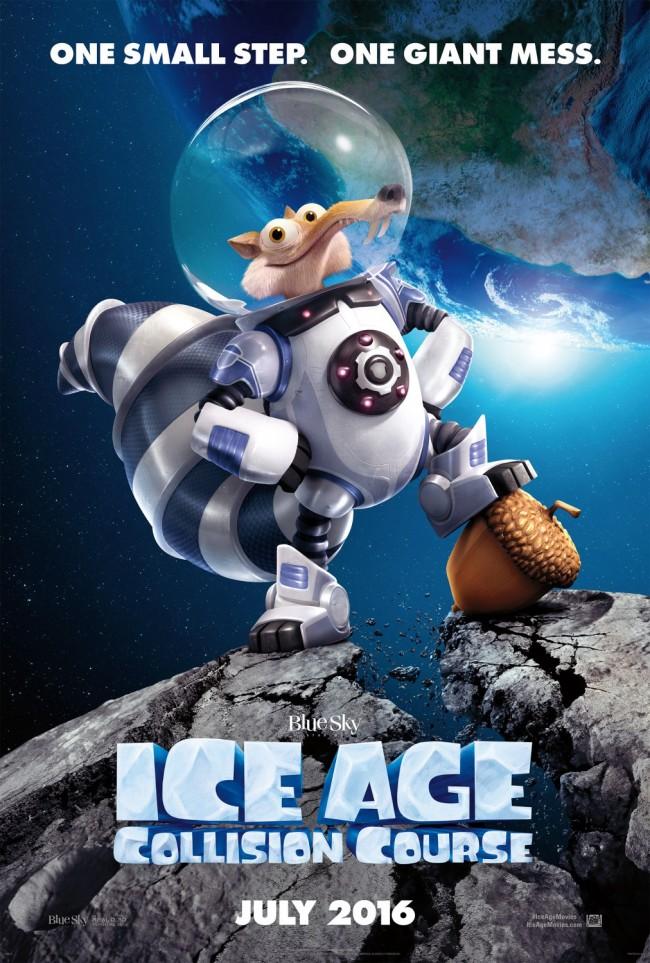 New Trailer:Scrat 撞地球《Ice Age:Collision Course》首支前導預告 1