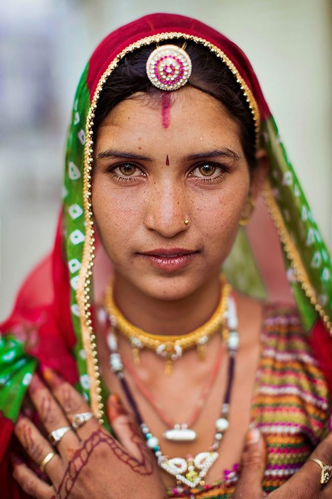 來自不同國家的女性臉龐:攝影師捕捉對於「美」的各種定義! 7