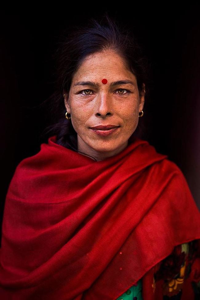 來自不同國家的女性臉龐:攝影師捕捉對於「美」的各種定義! 10