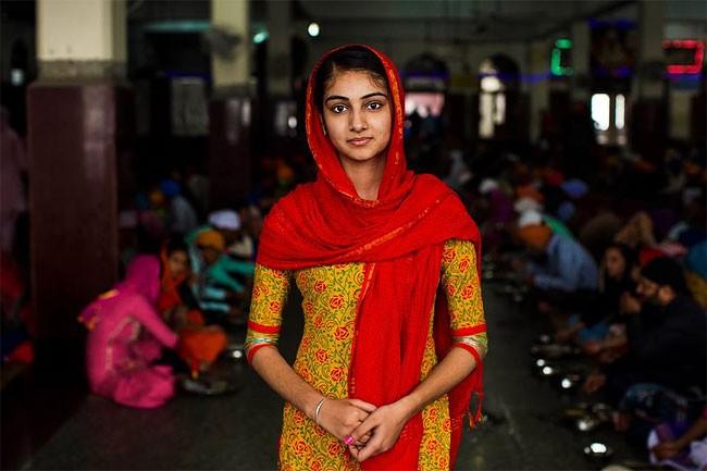 來自不同國家的女性臉龐:攝影師捕捉對於「美」的各種定義! 17