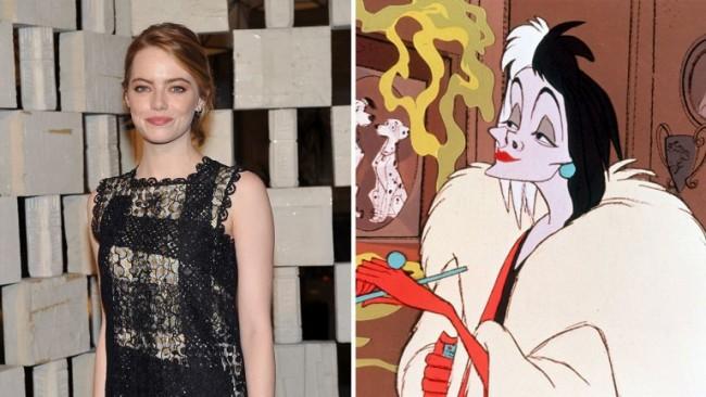 Emma Stone 出演電影版《101 Dalmatians》反派角色:「Cruella de Vil」 2