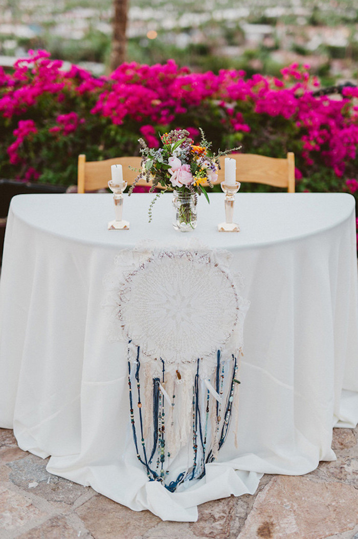 BOHO Style : Dreamcatcher Wedding 5