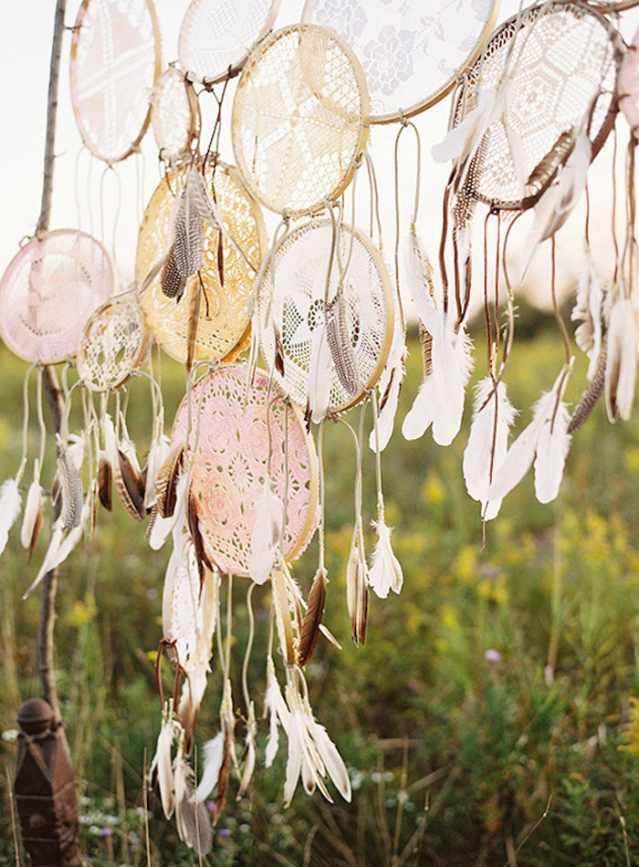 BOHO Style : Dreamcatcher Wedding 6