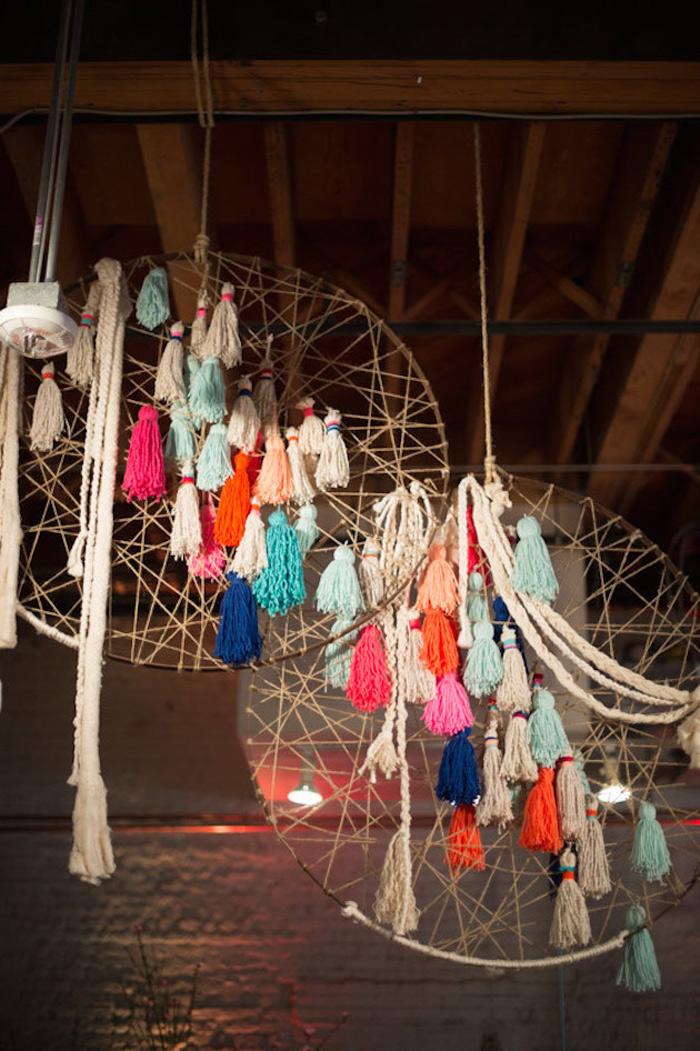 BOHO Style : Dreamcatcher Wedding 7