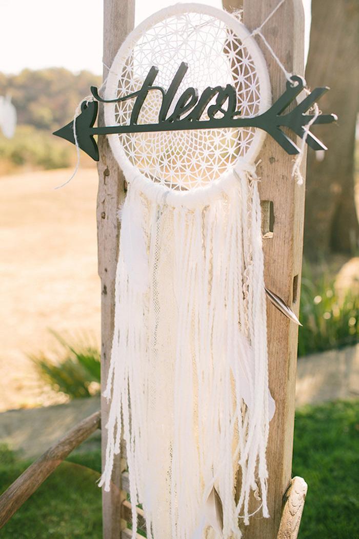 BOHO Style : Dreamcatcher Wedding 9