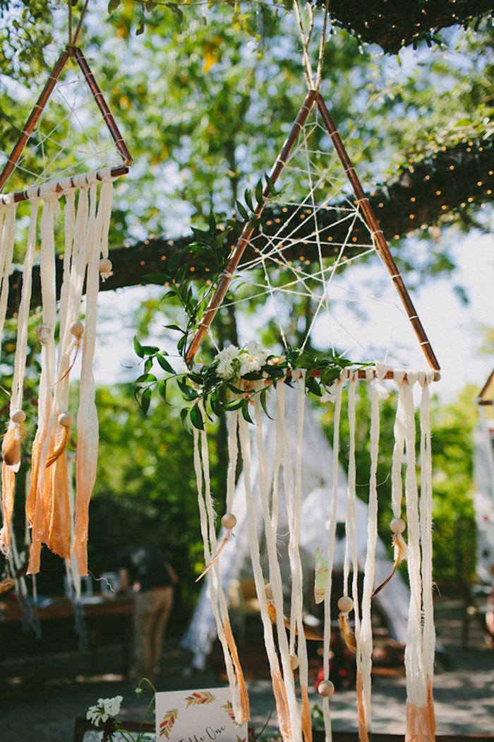 BOHO Style : Dreamcatcher Wedding 12