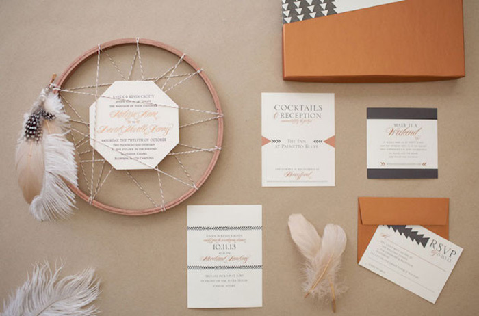 BOHO Style : Dreamcatcher Wedding 14