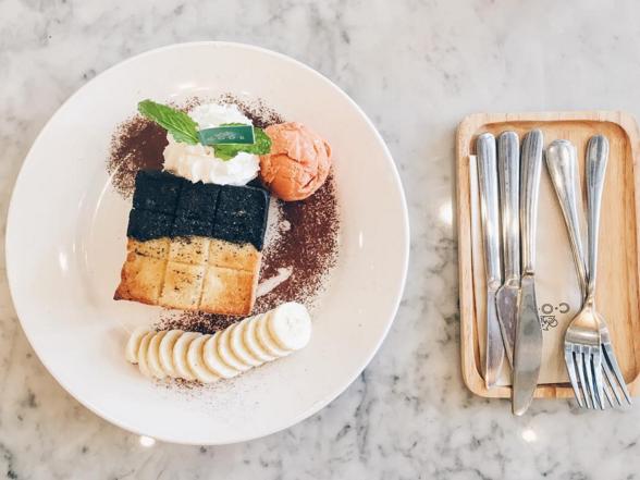 甜點大魔王:來自曼谷 CODE Cafe of Dessert Enthusiast 的熔岩烤土司 6