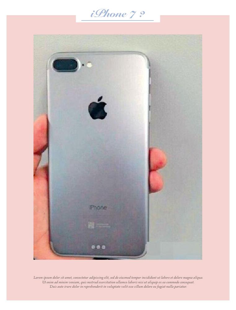 這是 iPhone 7 嗎?網路瘋傳Apple雙鏡頭設計新機 4