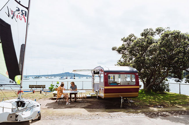 These Architects Wanted To Work Outside, So They Made A Mobile Office In A Caravan 8