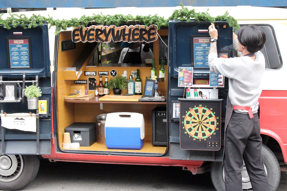 everywhere food truck a day magazine. Black Bedroom Furniture Sets. Home Design Ideas