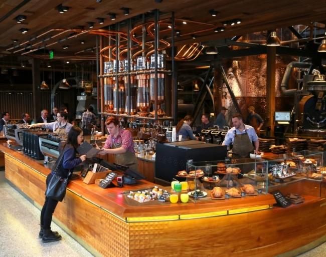 來自紐約最新地標:全球最大 Starbucks 門市! 1