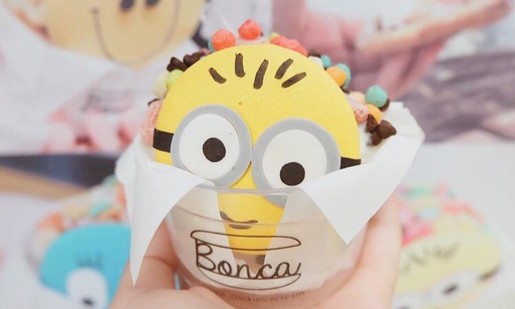 Bonca cookie ice cream 1