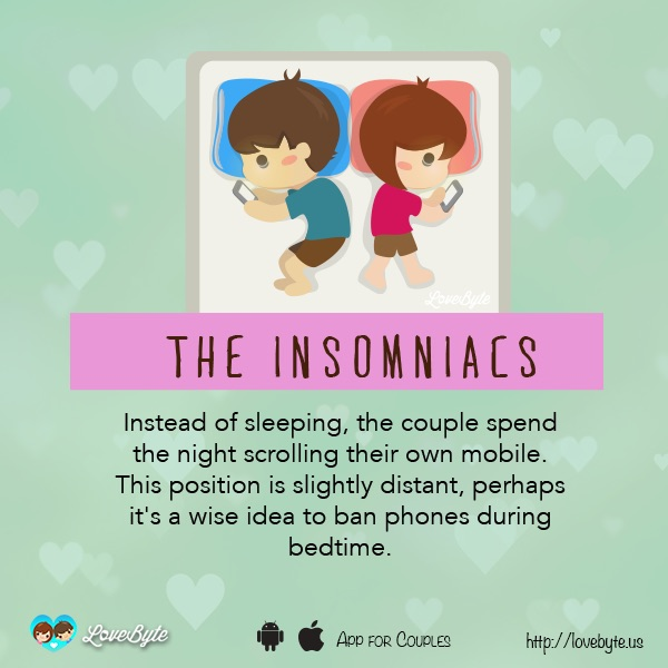 Different Types Of Sleeping Positions That Couples Tend To Doze Off In 6