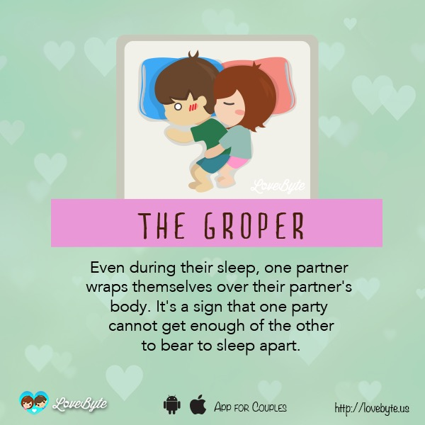 Different Types Of Sleeping Positions That Couples Tend To Doze Off In 10