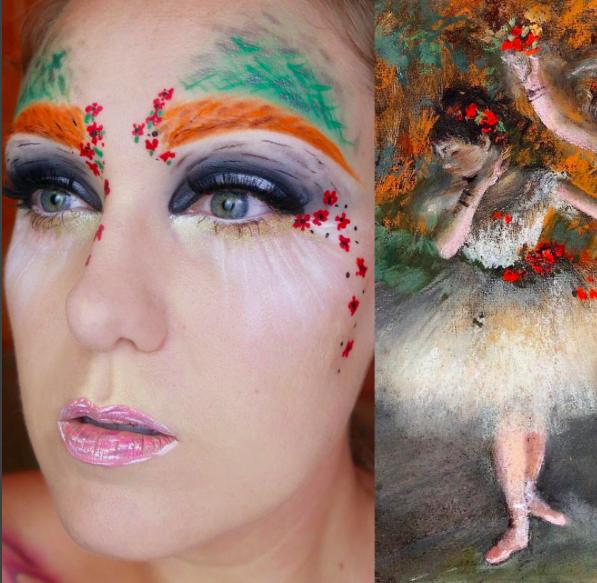 makeup as famous paints 1