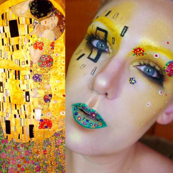 makeup as famous paints 2