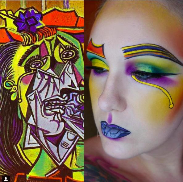 makeup as famous paints 3