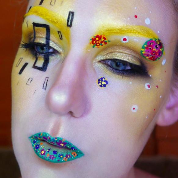makeup as famous paints 8