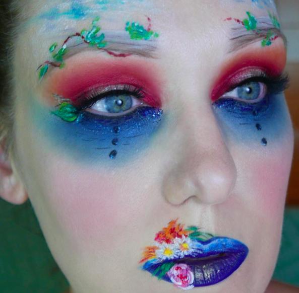 makeup as famous paints 11