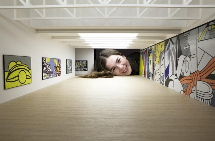 Miniature Galleries:把頭塞進微型美術館裡換種方式看展覽 11