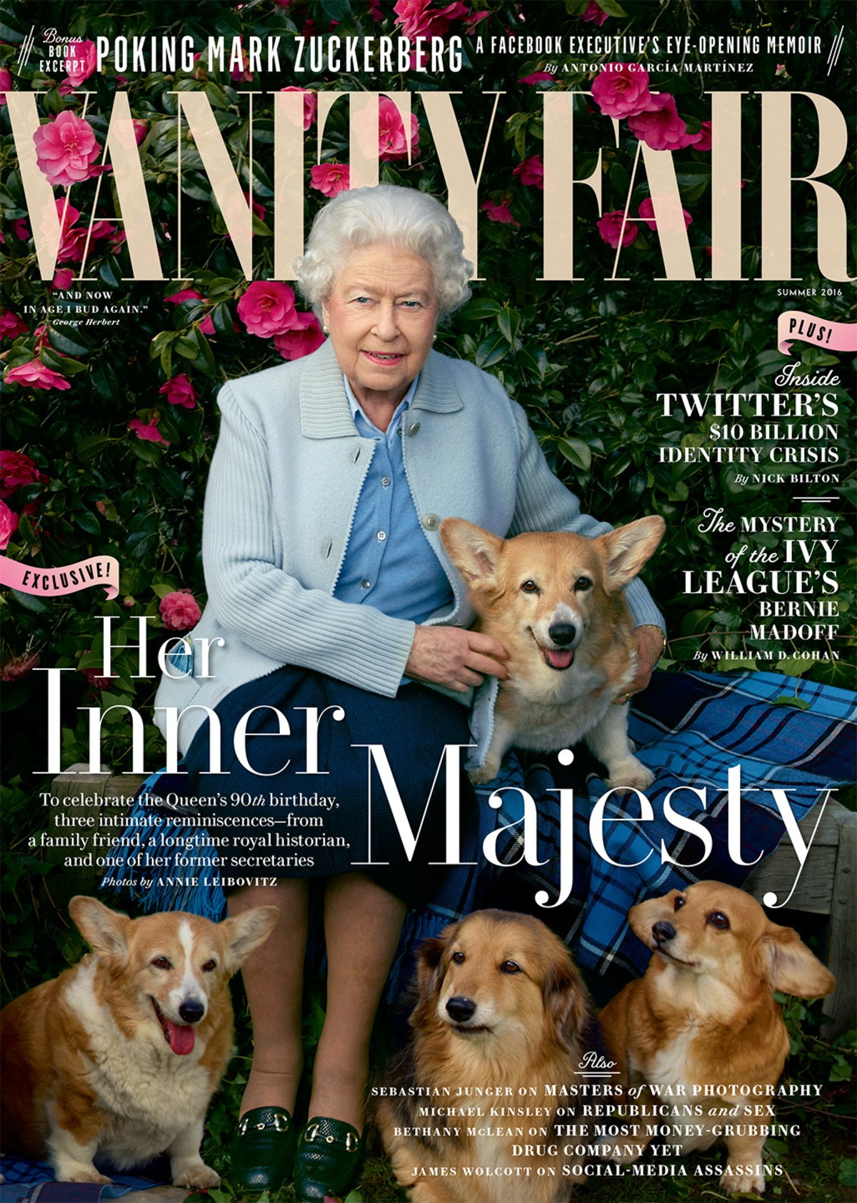 The Queen turns cover girl! 1