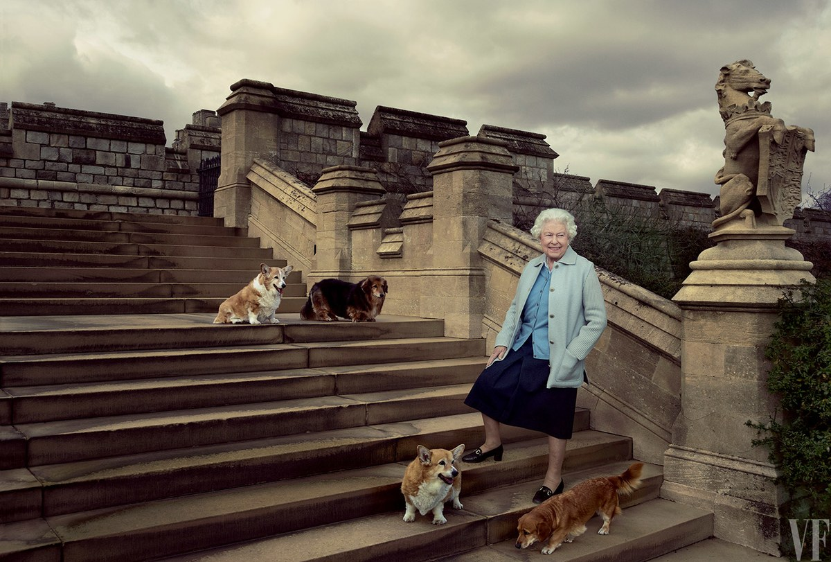 The Queen turns cover girl! 2