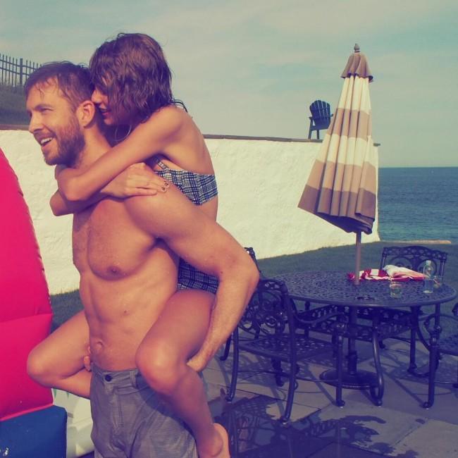 分手後還能當朋友嗎?Taylor Swift 和 Calvin Harris 依舊這樣保持聯絡