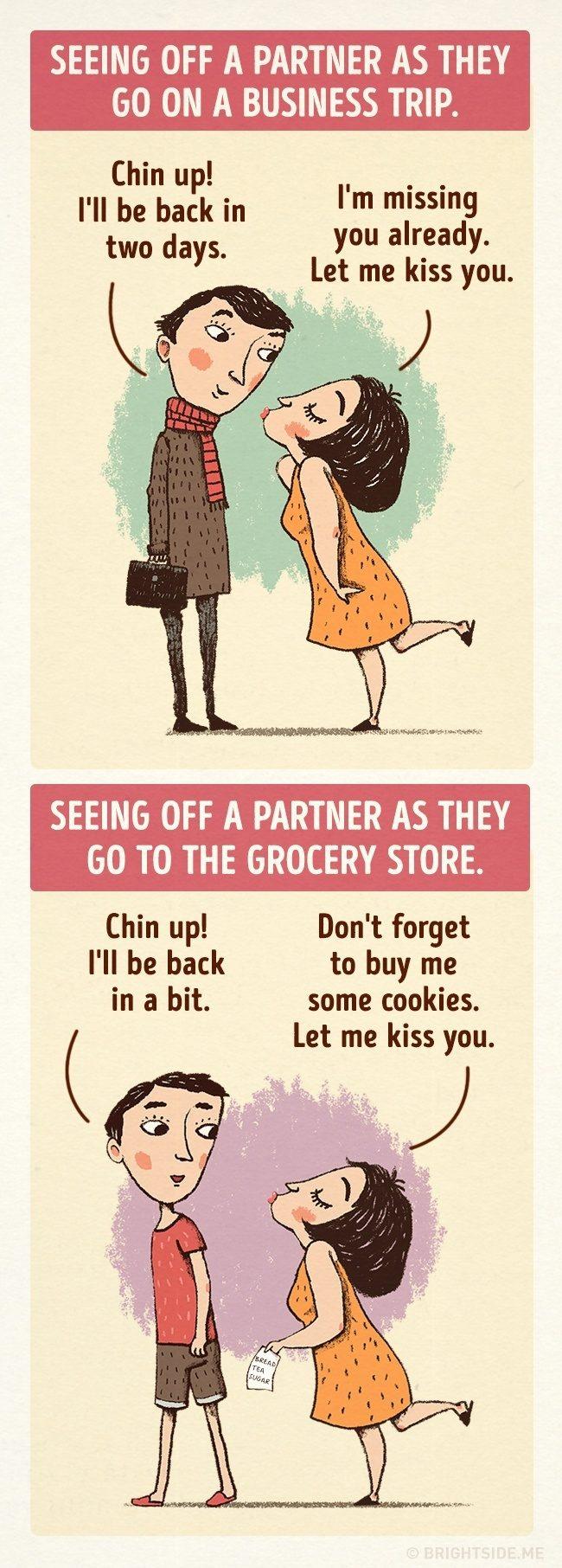 一輩子的感情是日常中的細膩經營,9張插圖道出恩愛夫妻才懂的相處之道 9