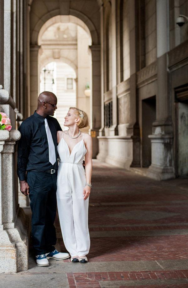 Wear Something Different:不穿白色婚紗,這18位新娘結婚當天勇敢穿出自己的獨特風格