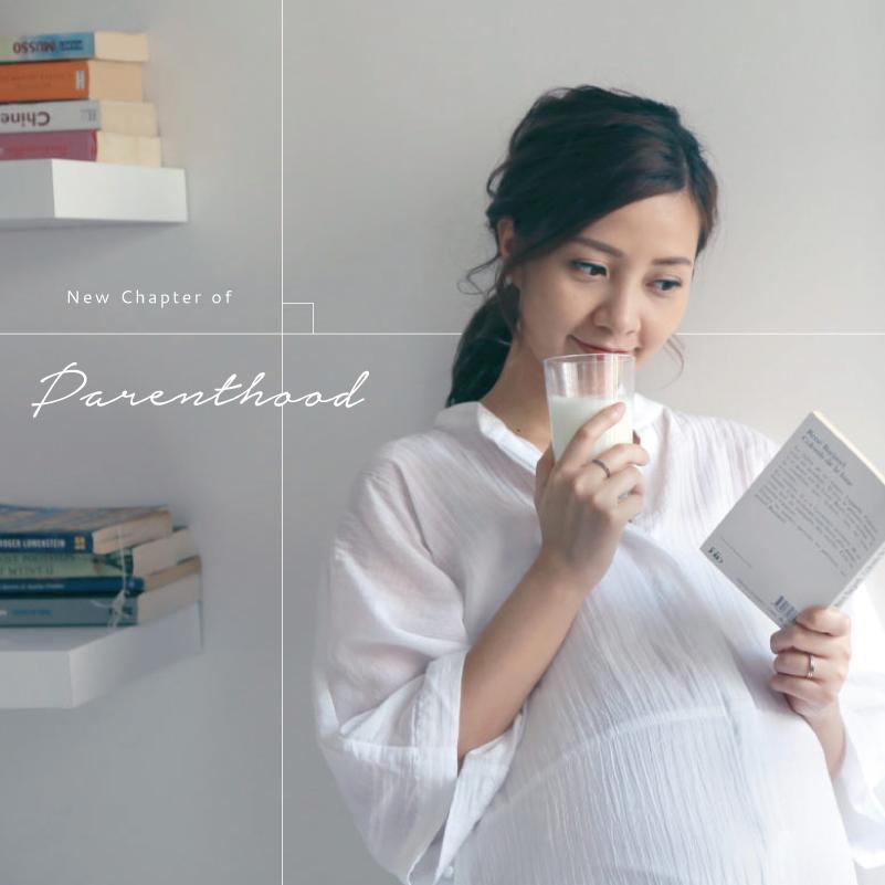 New Chapter of Parenthood:摩登女性的生活哲學,創造優雅的婚後日常