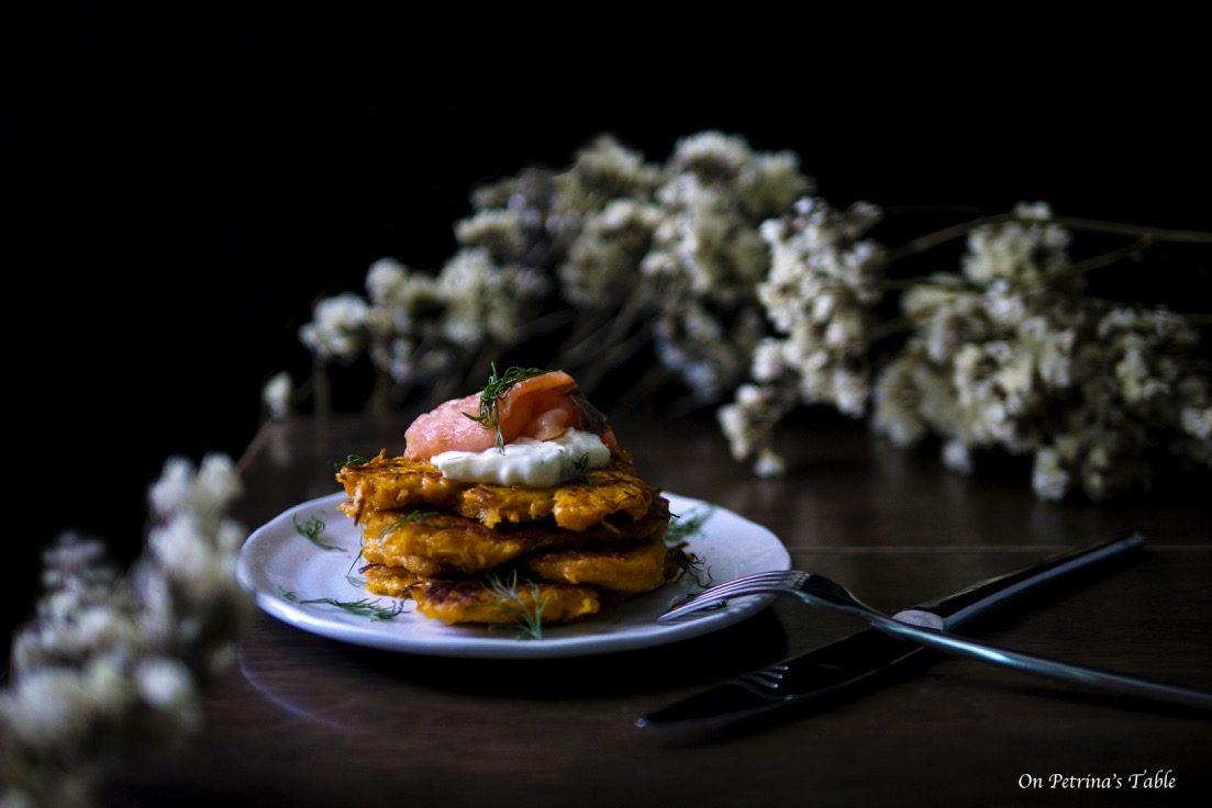 A Day Recipes for #Autumn:屬於秋天的香濃甜味 – 南瓜煎餅佐酸奶燻鮭 – [ Heng & Petrina 專欄 ]