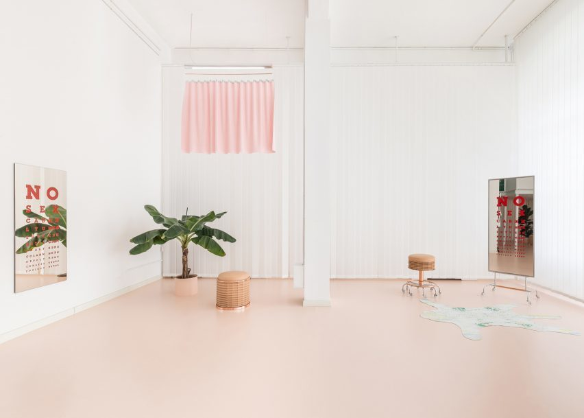 Pink Fever:從精品店到果汁店,10 個粉紅色室內設計打造充滿夢幻質感 2