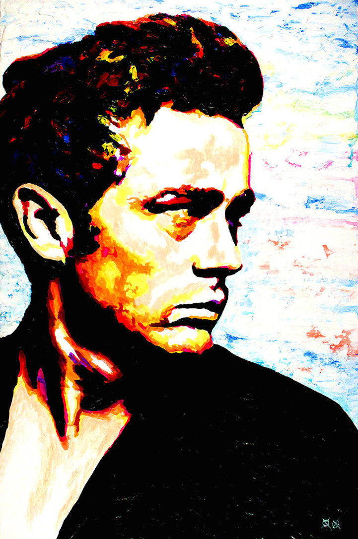 Colors in Darkness:盲人藝術家靠著觸摸和紋理創造驚人而生動的彩色畫作 8