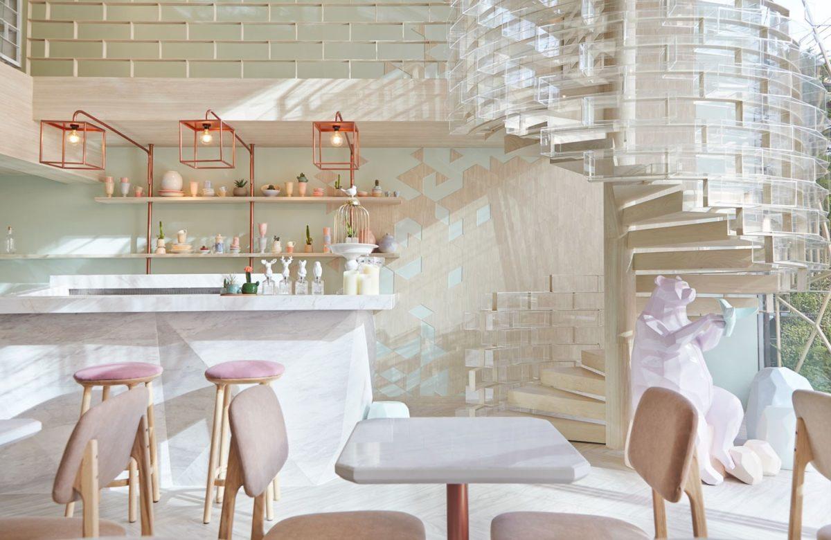 玫瑰色系的浪漫:曼谷甜點店 SHUGAA 絕對是女孩們會連流忘返的夢幻地 1