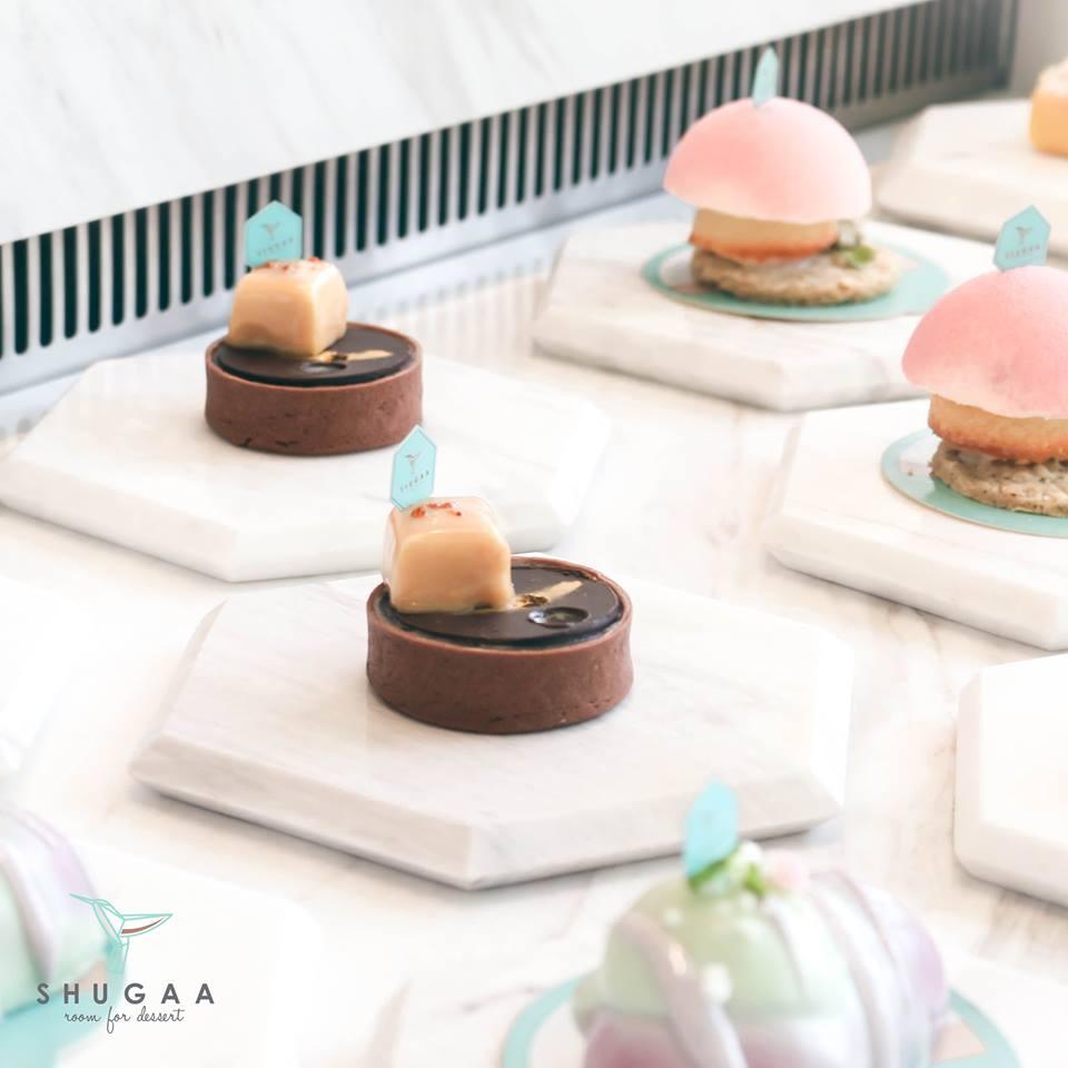 玫瑰色系的浪漫:曼谷甜點店 SHUGAA 絕對是女孩們會連流忘返的夢幻地 2
