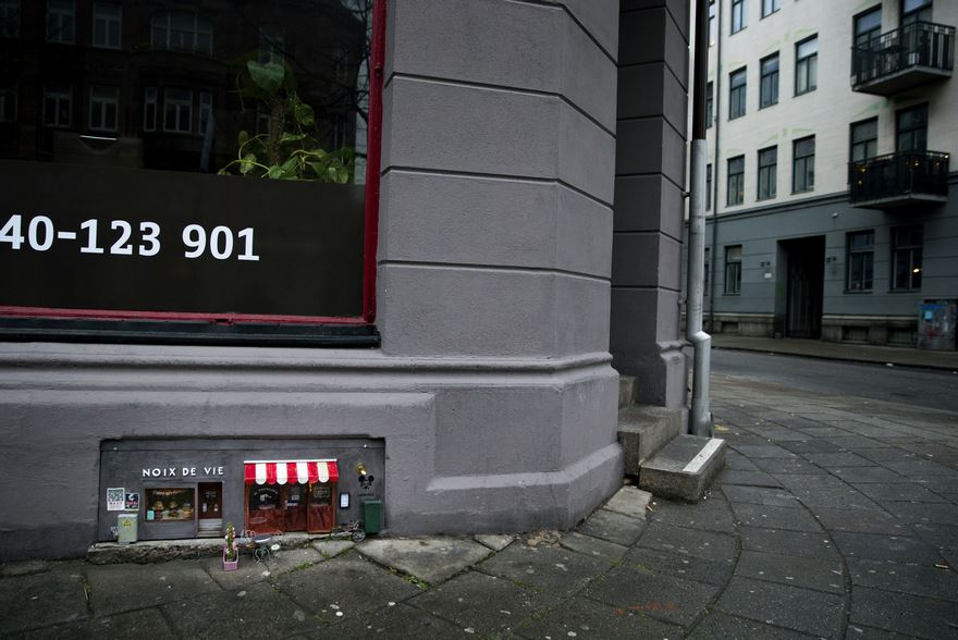 Anonymouse Are Opening Tiny Shops For Mice In Sweden 6