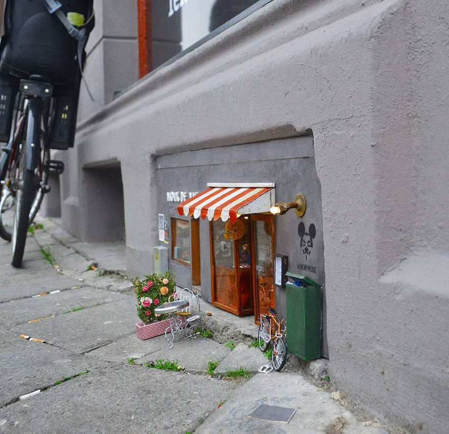 Anonymouse Are Opening Tiny Shops For Mice In Sweden 10