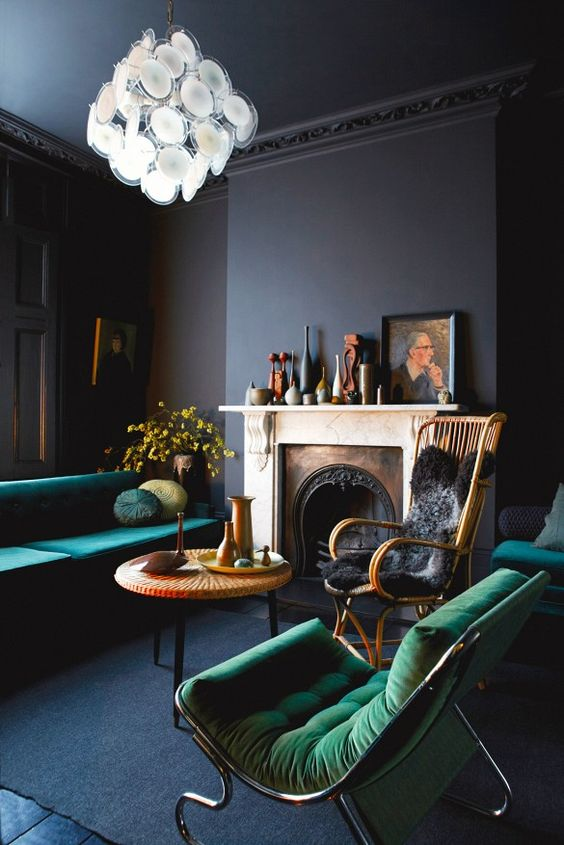 Dark Interiors:成熟的深色調將成為 2017 年室內裝潢的最新趨勢 6