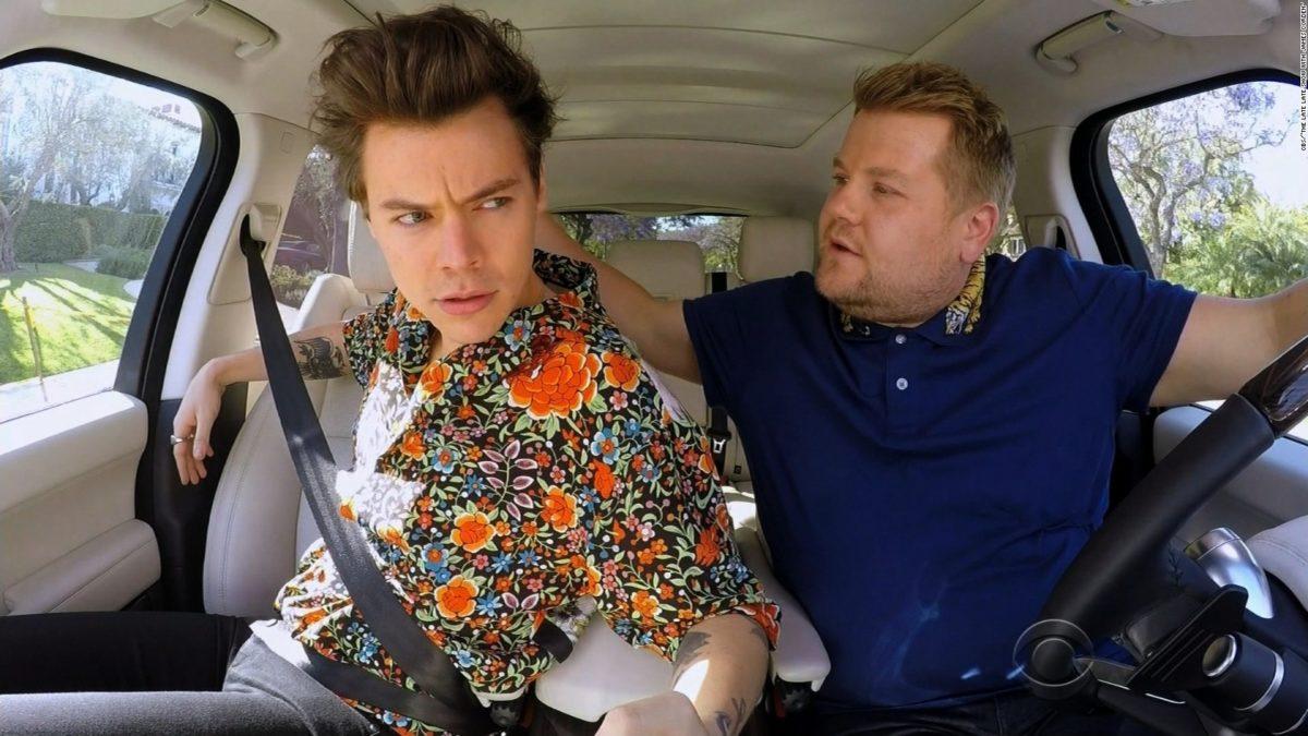 Harry styles carpool karaoke a day for Car pool karaoke show