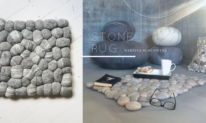Stone Rug:軟綿綿的「石頭地毯」,是這個秋天