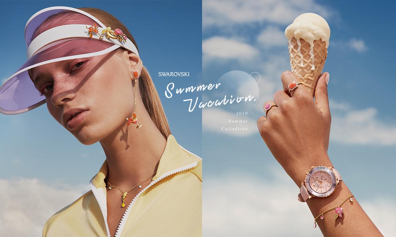 盡情玩耍吧!夏天的度假心情,由艷陽、閨蜜、冰淇淋繽紛點綴