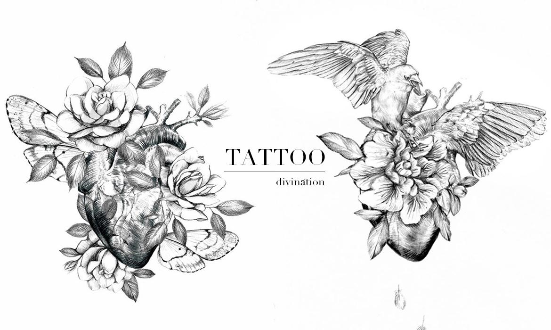 刺青占卜:選一顆你喜歡的心臟,明白你的心之所嚮 — [ isyuan 專欄]