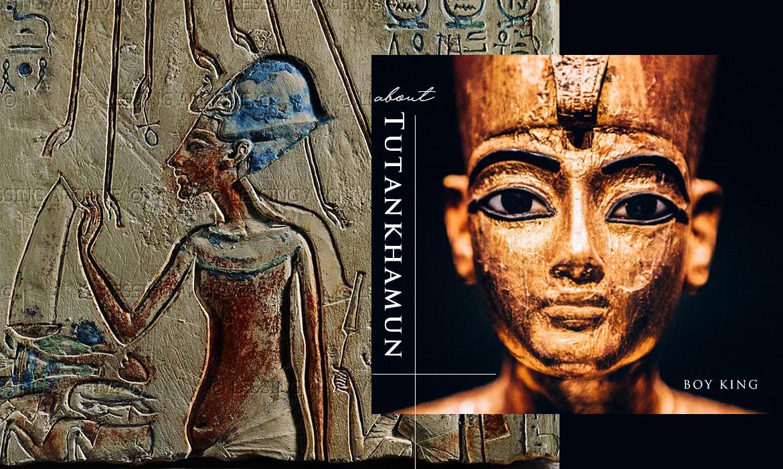 """人稱 """"Boy King"""" 的埃及法老圖坦卡門,一生受瘧疾及先天殘缺所苦"""